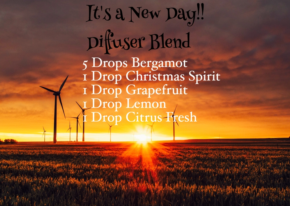It's a New Day Diffuser Blend