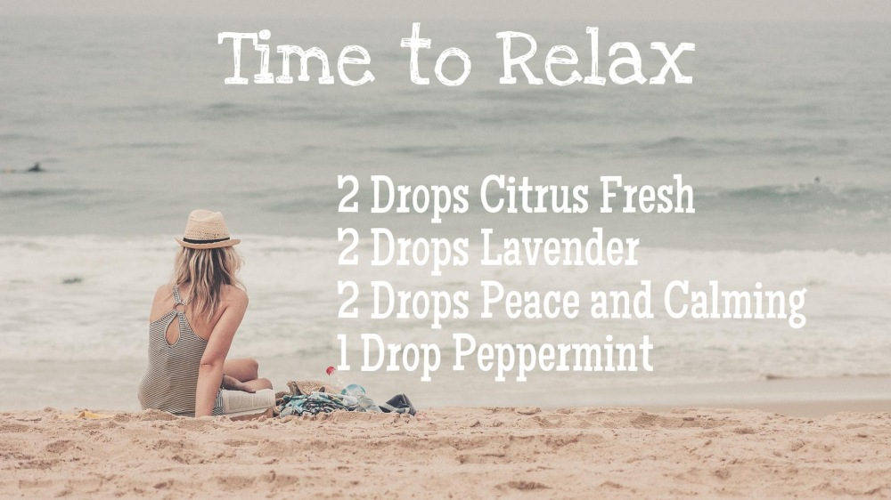 Time to Relax Diffuser Blend