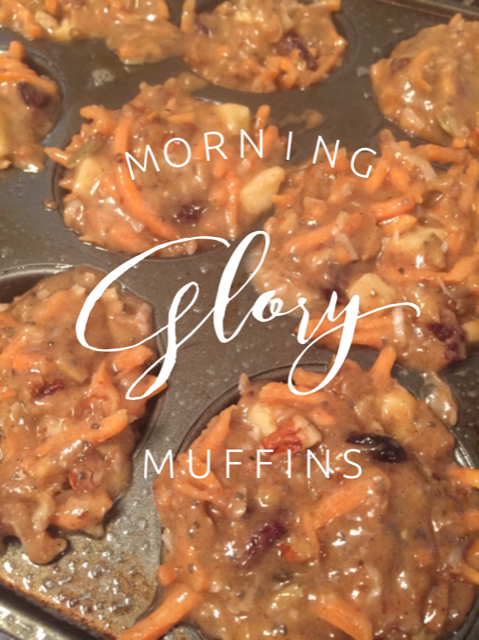 Morning Glory Muffins 1