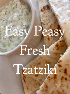Easy Peasy Fresh Tzatziki